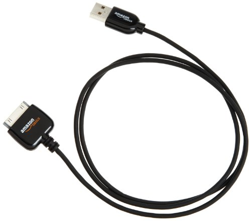 AmazonBasics-Cable-de-carga-y-sincronizacin-con-USB-compatible-con-iPhone-4S-iPad-3-iPod-touch-4-iPod-nano-6-y-modelos-anteriores-1-m-0