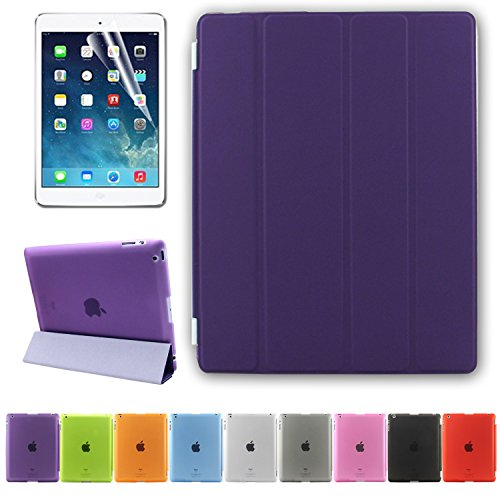 Besdata-PT2605-Funda-para-Apple-iPad-soporte-de-sobremesa-color-morado-0