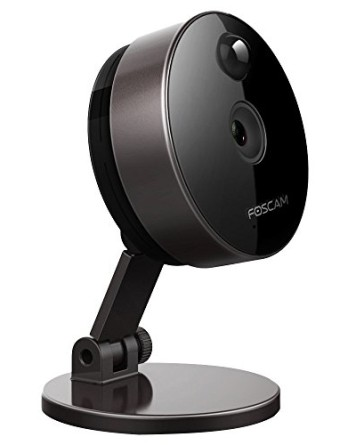 Foscam-C1-Cmara-IP-de-vigilancia-de-interior-10-MP-funcin-P2P-720p-H264-WIFI-seguridad-alarma-deteccin-movimiento-visualizacin-remota-compatible-con-iOS-y-Android-slot-tarjeta-Micro-SD-color-negro-0