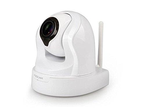 Foscam-FI9826PW-Cmara-IP-de-vigilancia-de-interior-funcin-P2P-13-MP-960p-H264-motorizada-zoom-3x-slot-tarjeta-micro-SD-9-W-color-blanco-0