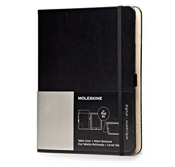 Housse-Tablette-Ipad-Air-Bloc-Notes-Reporter-Volant-Noir-Moleskine-Digital-Covers-0