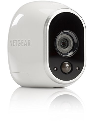 Netgear-Arlo-VMC3030-100EUS-Cmara-IP-100-libre-de-cables-para-video-vigilancia-con-visin-diurnanocturna-cmara-adicional-montaje-en-interior-y-exterior-resistentes-al-agua-no-sumergible-0