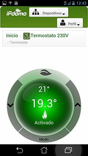 Termostato wifi ipdomo termostato para smartphone y for Termostato caldera wifi