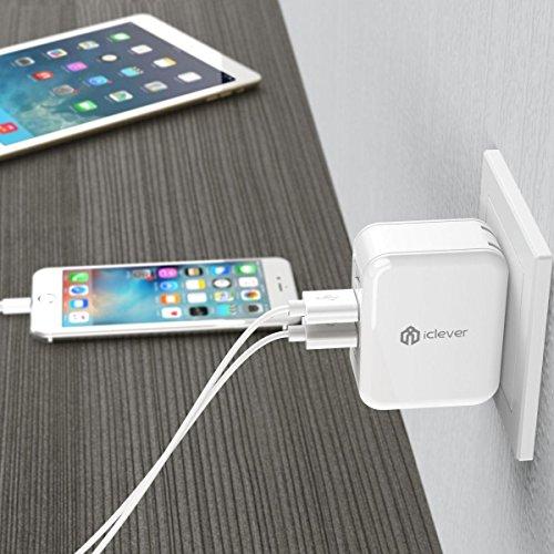 44de0896f03 iClever® BoostCube Cargador de Pared Wall Charger con SmartID ...