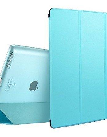 Carcasa-iPad-234-Funda-ESR-Serie-Yippee-iPad-234-Carcasa-Smart-Cover-de-Triple-Plegado-para-iPad-Air-Funda-Azul-0